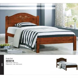 bed-single- L889 W1981 H991mm