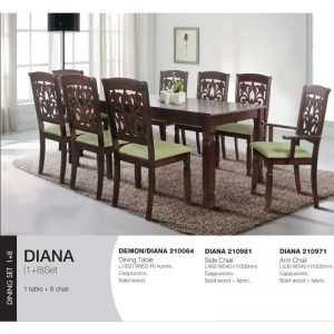 Demon-Diana Dining Set