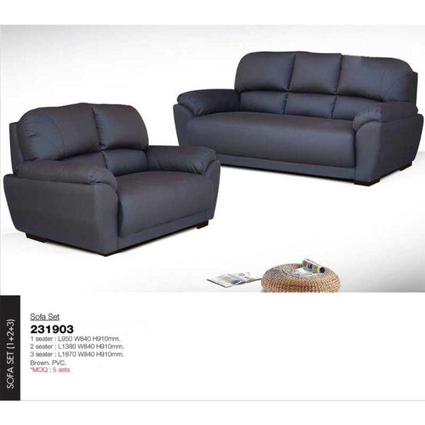 Sofa Set L950 W840 H910mm