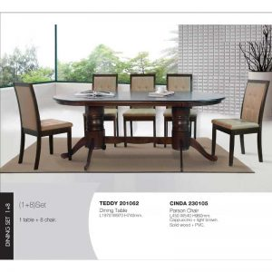 Teddy-Cinda Dining Set