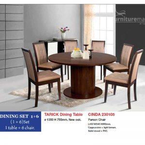 Tarick - Cinda Dining Set