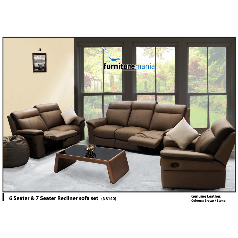 Recliner Sofa Set