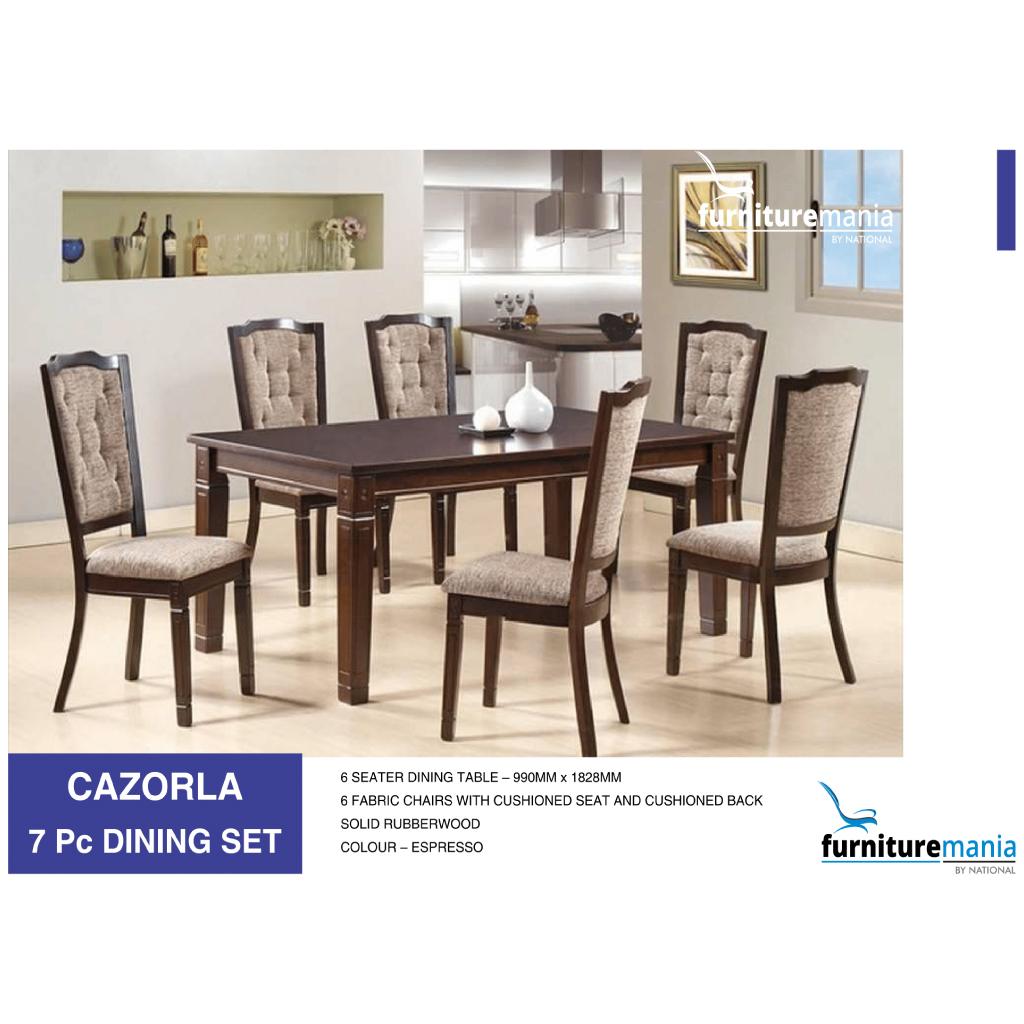 Cazorla - Dining Set - 7pc