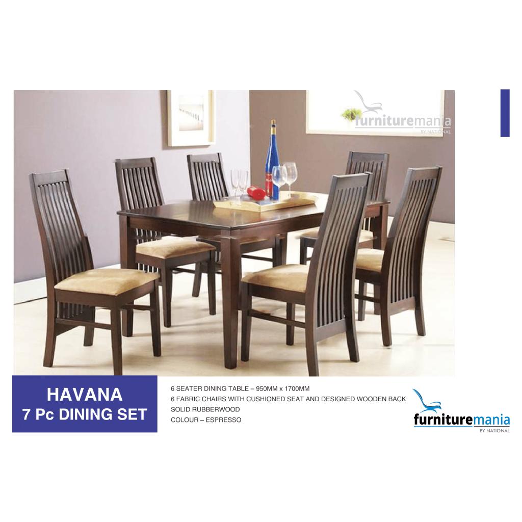 Havana - Dining Set - 7pc