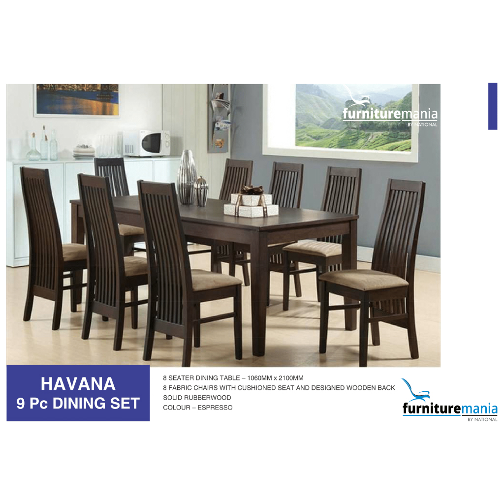 Havana - Dining Set - 9pc