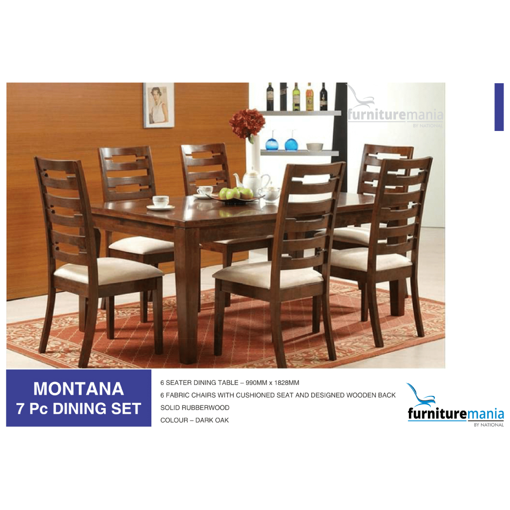 Montana Dining Set Furniture Mania By National