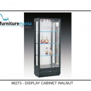 Display Cabinet Walnut-96273
