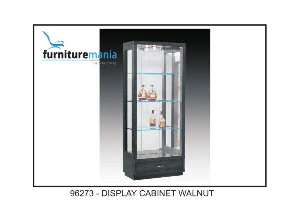 Display Cabinet Walnut-96273