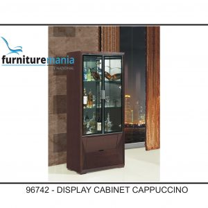 Display Cabinet Cappuccino-96742