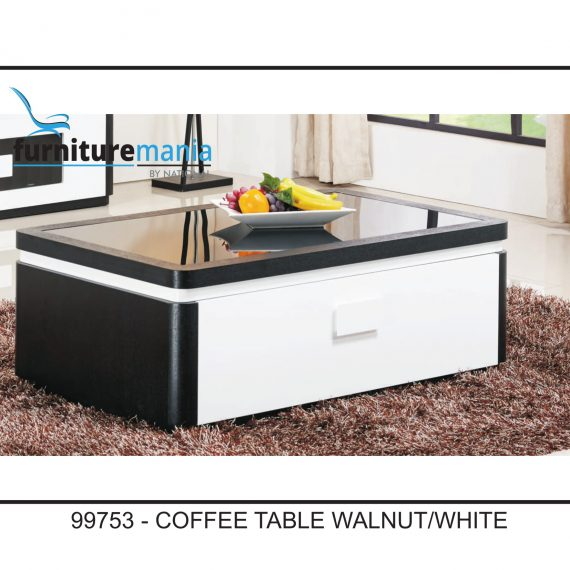 Coffee Table Walnut/White-99753