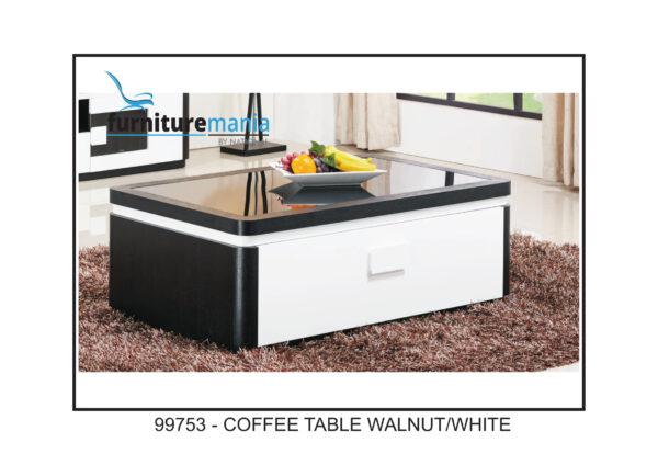 Coffee Table Walnut/White-99753